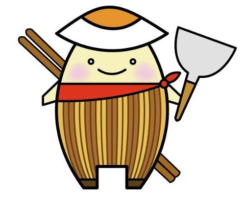 石巻焼きそば公式キャラクター「ちゃちゃ丸」